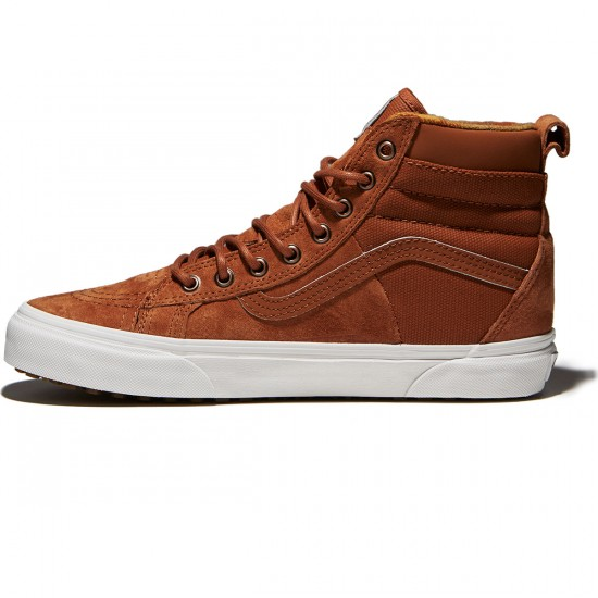Vans SK8-Hi 46 MTE DX Shoes - Glazed Ginger/Flannel - 10.0