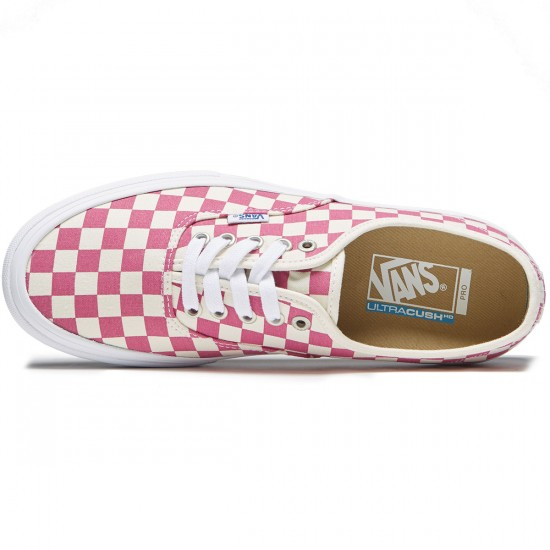 Vans Original Authentic Shoes - Checkerboard Fuchsia - 8.0
