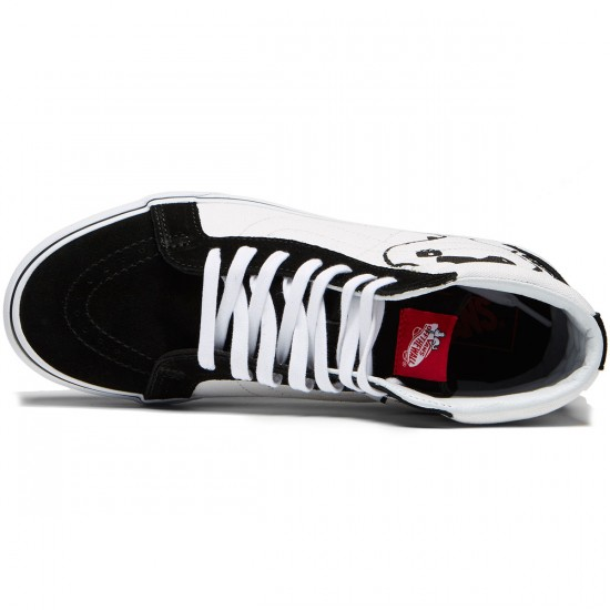 Vans X Peanuts Sk8 Hi Reissue Shoes - Joe Cool/Black - 8.0