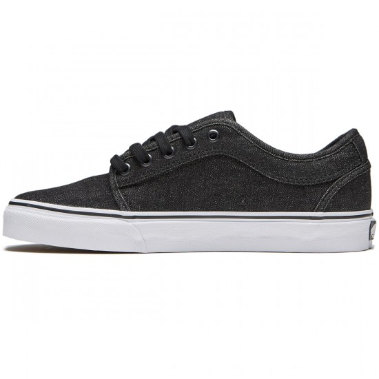 Vans Chukka Low Shoes - Denim Black/Black - 8.0