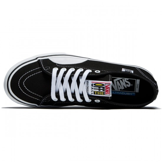 Vans AV Classic Pro Shoes - Black/White/White - 8.0