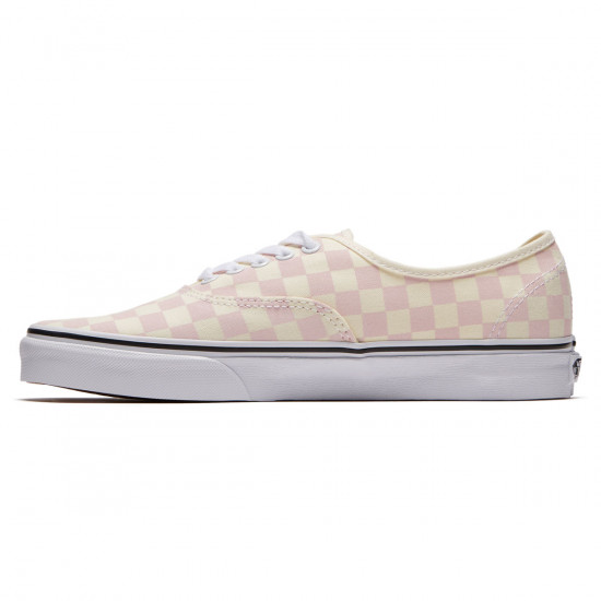 Vans Original Authentic Shoes - Chalk Pink/Classic White Checkerboard - 8.0