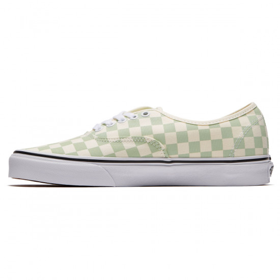 Vans Original Authentic Shoes - Ambrosia/Classic White Checkerboard - 8.0