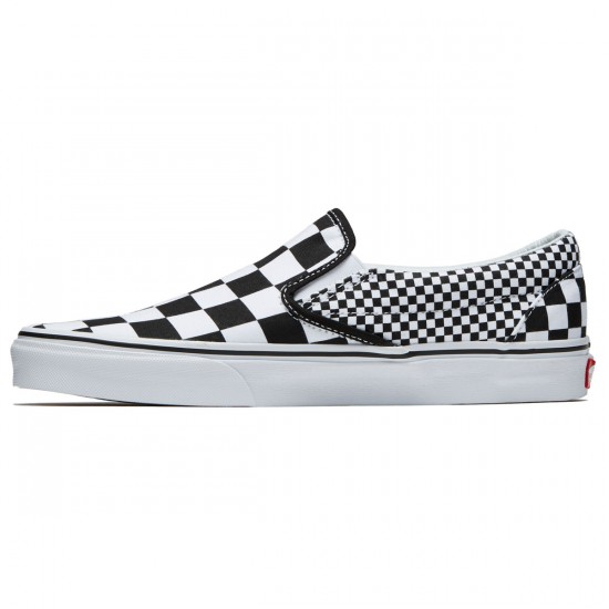Vans Classic Slip-On Shoes - Black/True White - 8.0