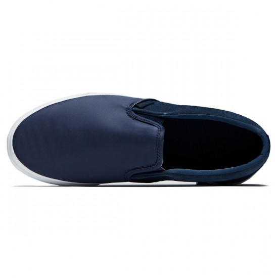 Vans Classic Slip-On Shoes - Dress Blues Nylon - 8.0