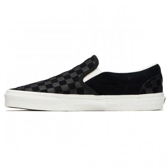Vans Classic Slip-On Shoes - Black/Marshmallow - 8.0