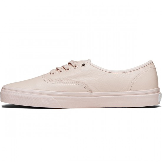 Vans Original Authentic Shoes - Leather Mono/Sepia Rose