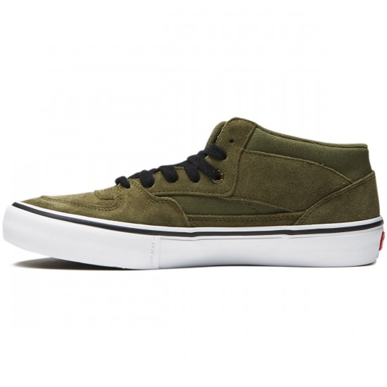 Vans Half Cab Pro Shoes - Winter Moss - 8.0