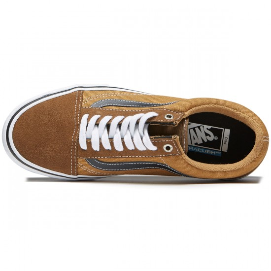 Vans Old Skool Pro Shoes - Teak/Medal Bronze - 8.0