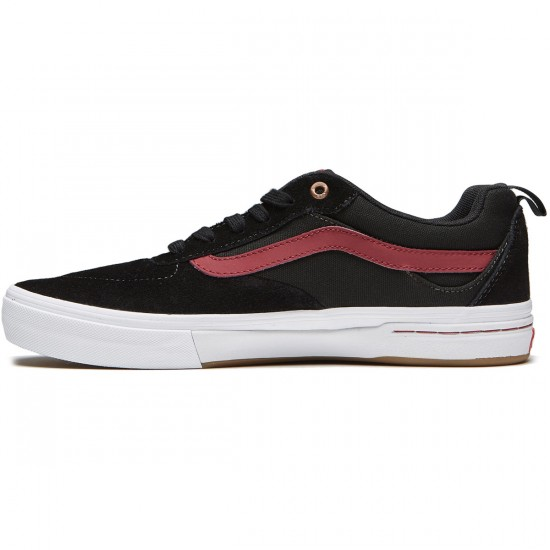 Vans Kyle Walker Pro Shoes - Black/Tibetan Red - 8.0