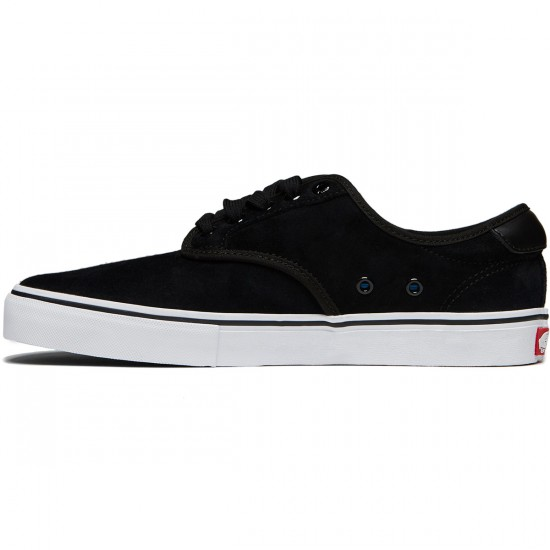 Vans Chima Ferguson Pro Shoes - Black/White Suede - 8.0