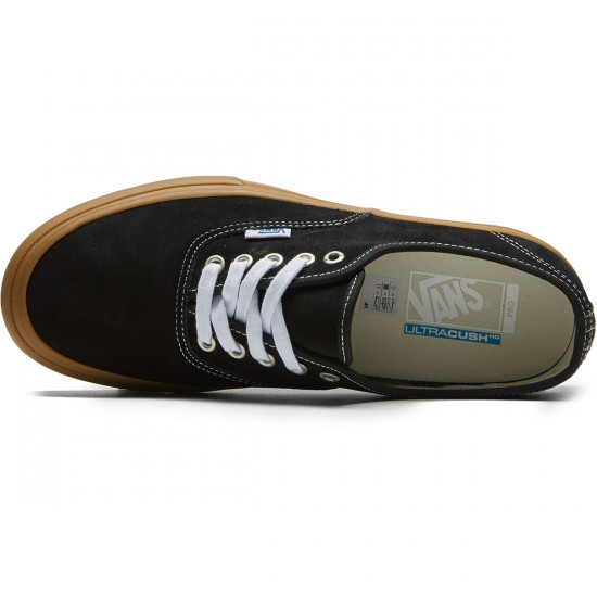 Vans Authentic Pro Shoes - Black/Light Gum - 8.0