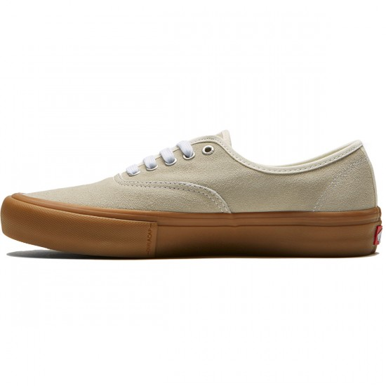 Vans Authentic Pro Shoes - Classic White/Light Gum - 8.0
