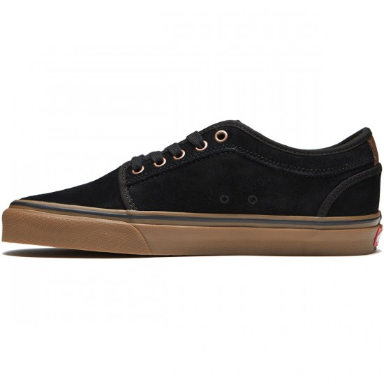 Vans Chukka Low Shoes - Black/Gum/Mustang - 8.0
