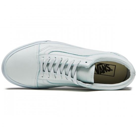 Vans Old Skool Shoes - Leather Mono/Ice Flow - 8.0