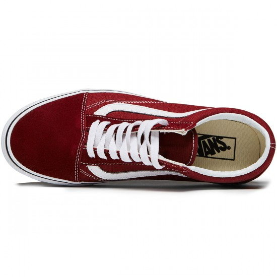 Vans Old Skool Shoes - Madder Brown/True White - 8.0
