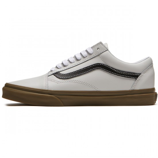 Vans Old Skool Shoes - Grey/Black/Gum - 8.0