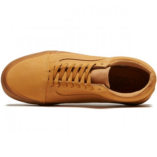 Vans Old Skool Shoes - Vansbuck Light Gum/Mono - 8.0