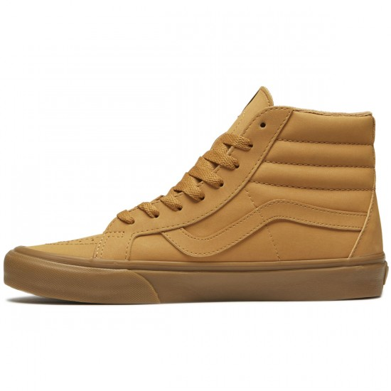 Vans SK8-Hi Reissue Shoes - Vansbuck Light Gum/Mono - 8.0