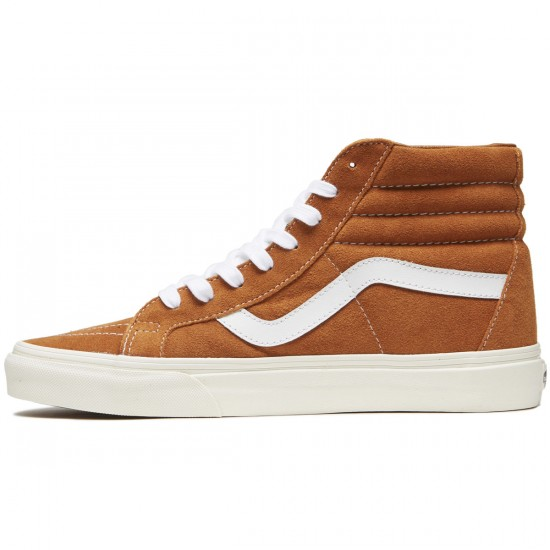 Vans SK8-Hi Reissue Shoes - Retro Sport/Glazed Ginger - 8.0