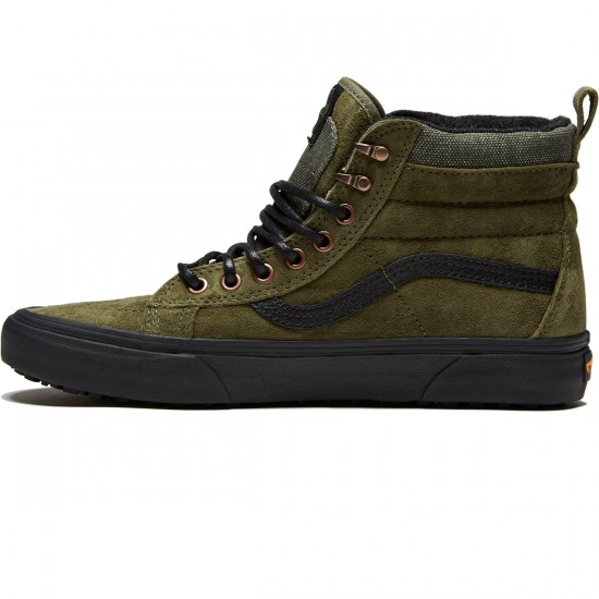 Vans Sk8-Hi MTE Shoes - Pat Moore/Grape Leaf - 8.0