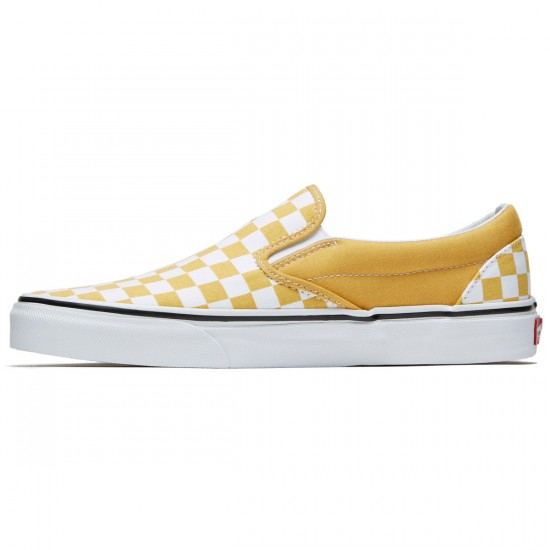 Vans Classic Slip-On Shoes - Ochre/True White - 8.0