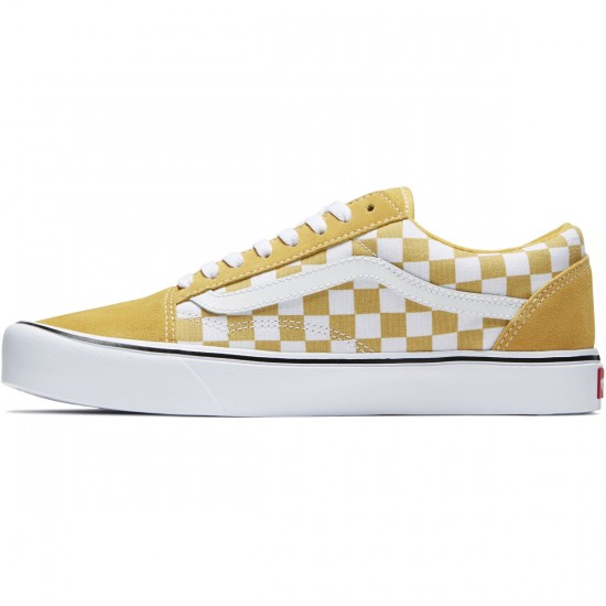 Vans Old Skool Lite Shoes - Ochre/True White - 8.0