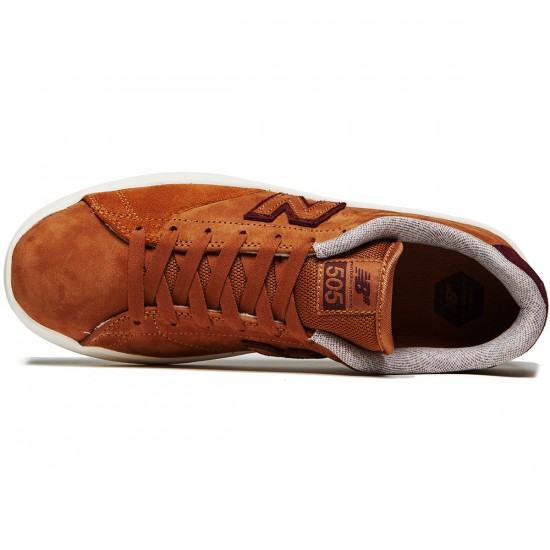 New Balance 505 Shoes - Cinnamon/Chocolate Cherry - 8.0