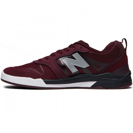 New Balance Numeric 868 Shoes - Chocolate Cherry/Black - 8.0