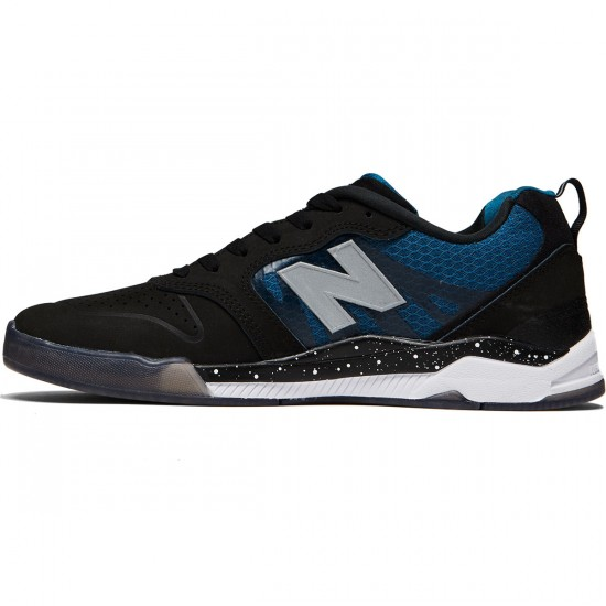 New Balance Numeric 868 Shoes - Black/Moroccan Blue - 8.0