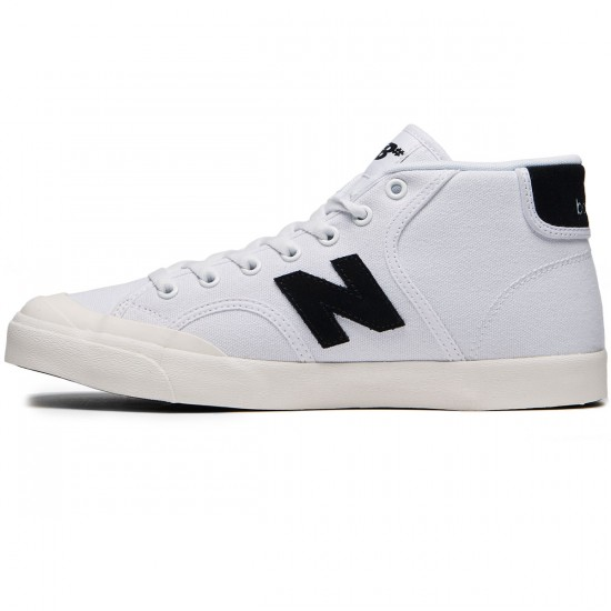 New Balance Numeric Pro Court 213 Shoes - White/Black - 8.0