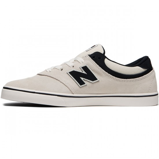 New Balance Quincy 254 Shoes - Sea Salt/Black - 8.0