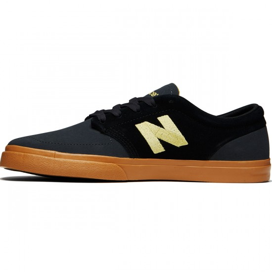 New Balance 345 Shoes - Black/Yellow - 8.0