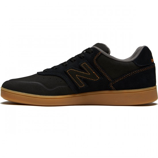 New Balance Numeric 288 Shoes - Black/Gum - 8.0