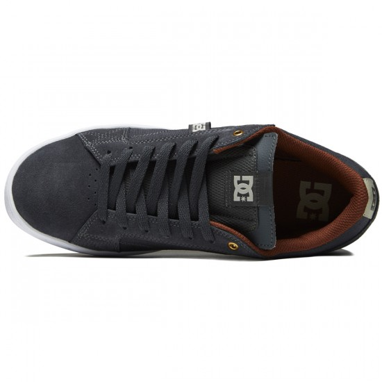 DC Astor Shoes - Grey/White - 10.0