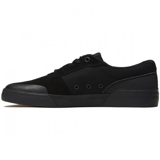 DC Switch Plus S Shoes - Black/Black/Black - 8.0