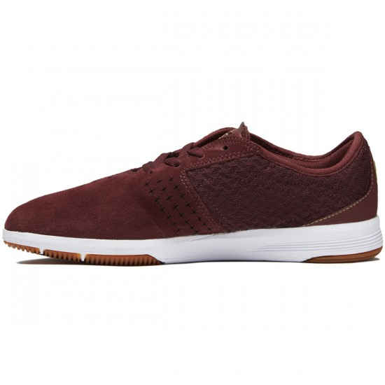 DC New Jack S Shoes - Maroon - 8.0