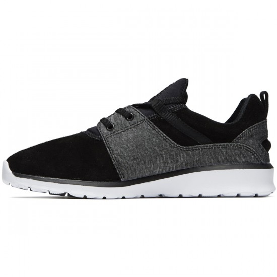 DC Heathrow SE Shoes - Blackwash