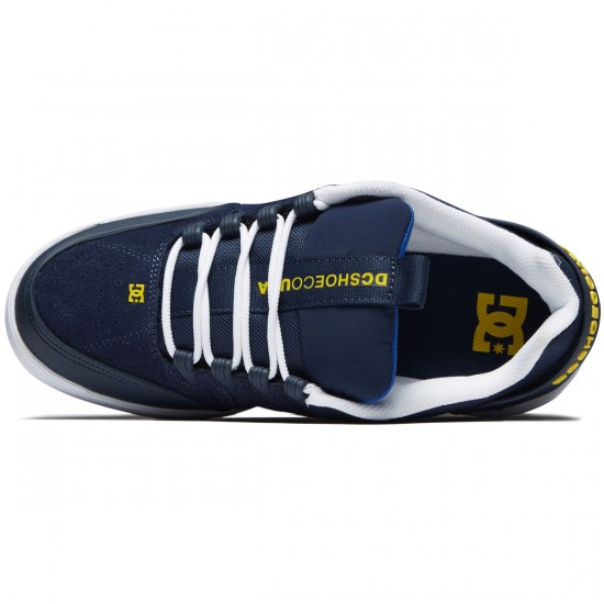 DC Syntax Shoes - Navy/White - 8.0