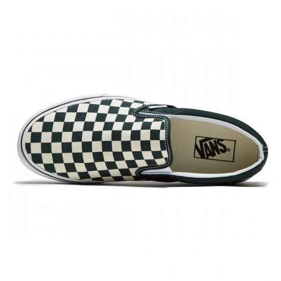Vans Classic Slip-On Shoes - Scarab/White - 8.0