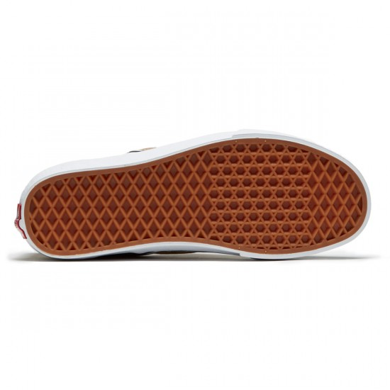 Vans Classic Slip-On Shoes - Tigers Eye/White - 8.0