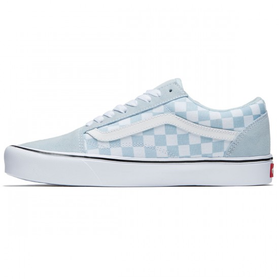 Vans Old Skool Lite Shoes - Baby Blue/True White - 8.0
