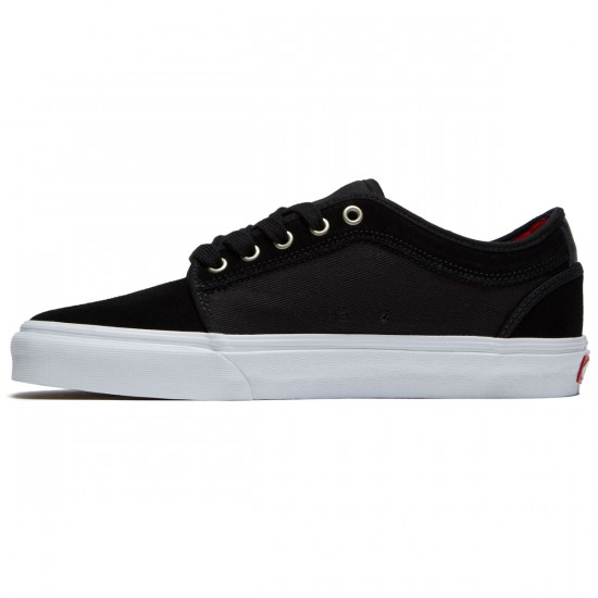 Vans Chukka Low Shoes - Black/White/Chili Pepper - 8.0