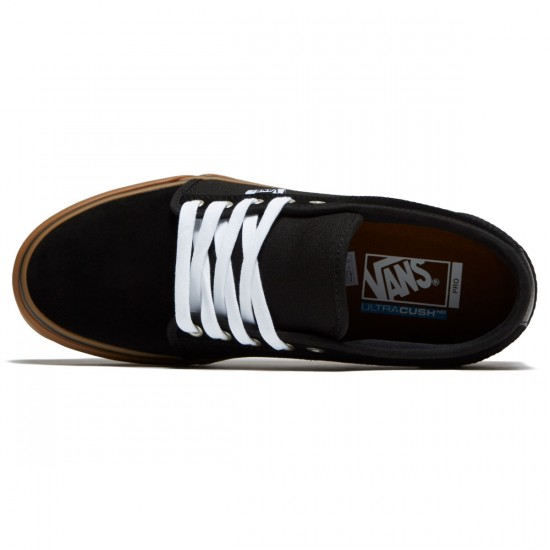 Vans Chukka Low Shoes - Black/Black/Gum
