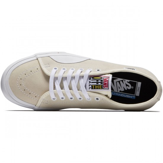 Vans AV Classic Pro Shoes - White/White - 8.0