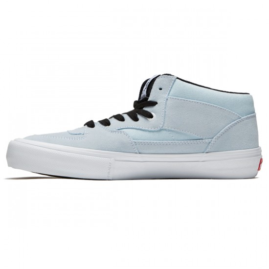 Vans Half Cab Pro Shoes - Baby Blue/White - 8.0