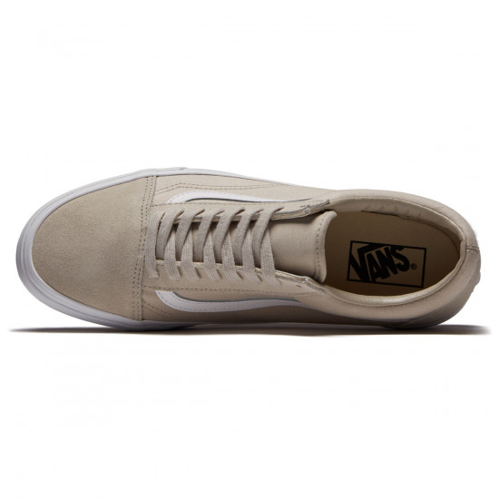 Vans Old Skool Shoes - Silver Lining/True White