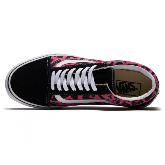 Vans Old Skool Shoes - Pink/Black - 8.0