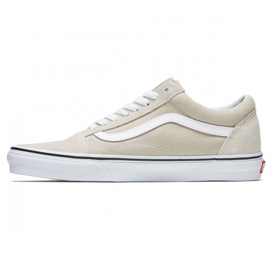 Vans Old Skool Shoes - Silver Linning/True White