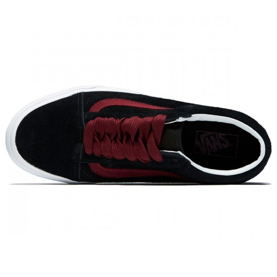 Vans Old Skool Shoes - Black/Port Royale - 8.0